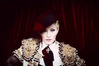 Madonna estreou novo video no Snapchat