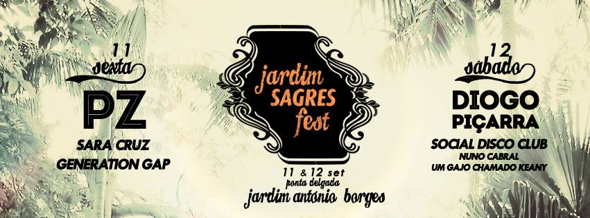 Jardim Sagres Fest: Música ao Jardim António Borges