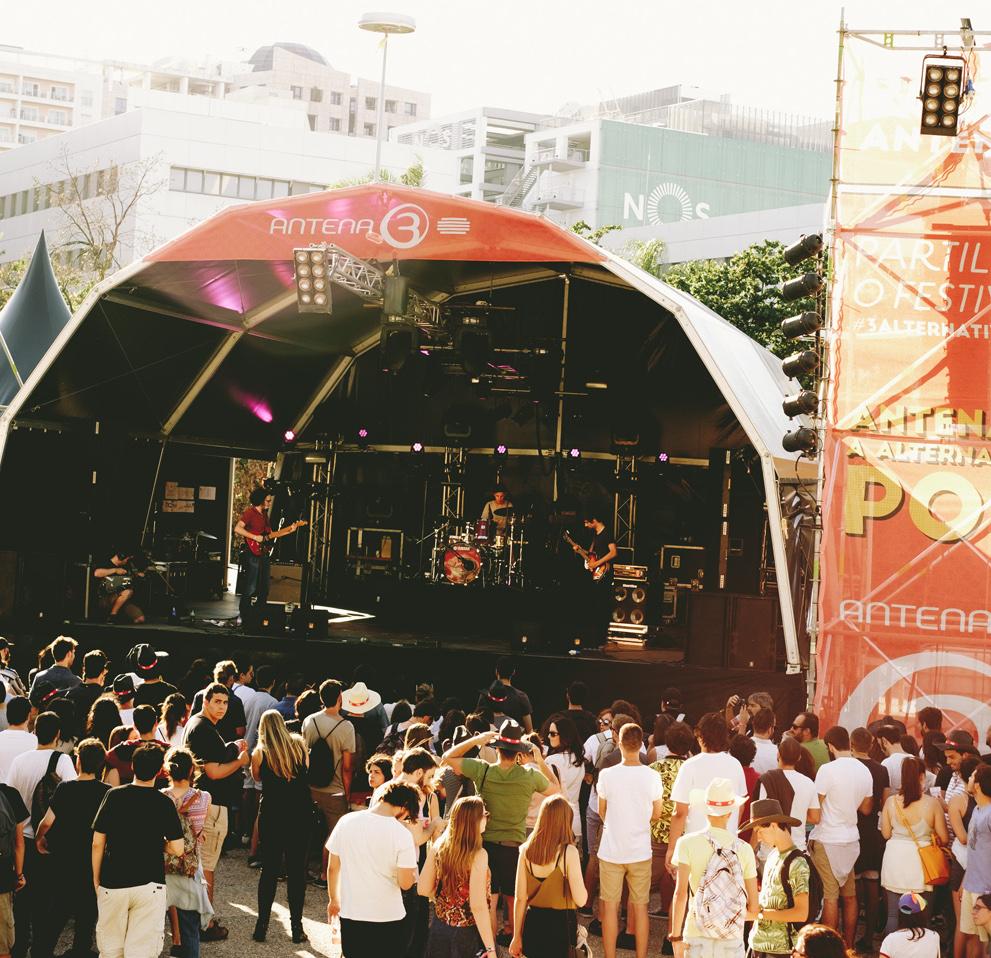 Palco Antena 3 leva música portuguesa ao Super Rock