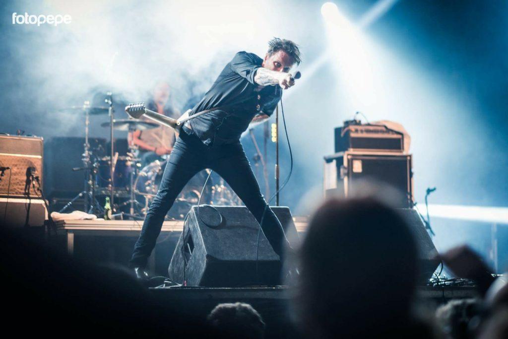 Noite de rock com lua cheia