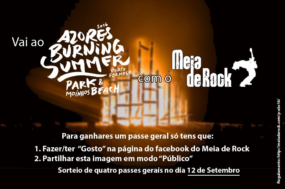 Passatempo Azores Burning Summer 2016